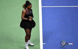 Η Σερένα Ουίλιαμς στο U.S. Open.