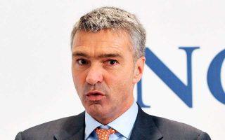 Το σκάνδαλο ξεπλύματος μαύρου χρήματος προκάλεσε έντονες αντιδράσεις στην Ολλανδία, με αποτέλεσμα την απομάκρυνση του οικονομικού διευθυντή του ING Groep Κόος Τίμερμανς (φωτ.).