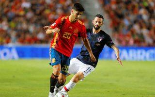 Η Ισπανία συνέτριψε με 6-0 την ομάδα-έκπληξη του περασμένου Παγκοσμίου Κυπέλλου στη Ρωσία.
