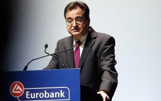 Για το 2019 στόχος είναι το στοκ των μη εξυπηρετούμενων ανοιγμάτων να περιοριστεί στα 12,1 δισ. και για την επίτευξή του η τράπεζα σκοπεύει να προχωρήσει σε τιτλοποίηση μη εξυπηρετούμενων στεγαστικών δανείων 2 δισ., τονίζει ο διευθύνων σύμβουλος της Eurobank Φωκίων Καραβίας.
