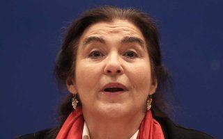 Η Λυδία Κονιόρδου, πρόεδρος πλέον του Δ.Σ. του ΚΠΙΣΝ.