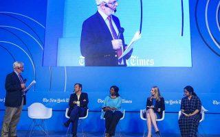 Κατά την τελευταία ημέρα, στο έκτο Athens Democracy Forum που διοργάνωσαν οι New York Times στην Αθήνα, συζητήθηκαν οι λύσεις των προκλήσεων που αντιμετωπίζει η δημοκρατία.