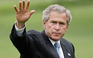 Ο Τζορτζ Μπους περιέγραψε τη συμφωνία των Πρεσπών ως έναν «γενναίο και δίκαιο συμβιβασμό».