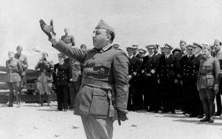 Ο στρατηγός Φρανθίσκο Φράνκο ετάφη το 1975 στην «Κοιλάδα των Πεσόντων» στα περίχωρα της Μαδρίτης.
