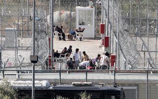 Οταν υπεγράφη το μνημόνιο μεταξύ των δύο μερών, υπήρχε ήδη ο κλειστός καταυλισμός των προσφύγων στην Αμυγδαλέζα.