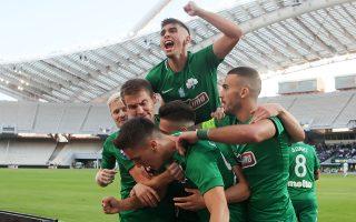 Τα έξι από τα δέκα φετινά γκολ των «πρασίνων» έχουν πετύχει παίκτες ηλικίας κάτω των 21 ετών.