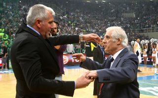 O Zέλικο Oμπράντοβιτς, ο σημαντικότερος προπονητής στην ιστορία του Παναθηναϊκού, θα βρεθεί από σήμερα στο ΟΑΚΑ με την ομάδα του, τη Φενέρμπαχτσε, για να τιμήσει τη μνήμη του προέδρου που γιγάντωσε τους «πράσινους», του Παύλου Γιαννακόπουλου.