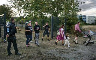 Πολλά ακροδεξιά φεστιβάλ διοργανώνονται στη Γερμανία με στόχο τη μετάδοση του εξτρεμιστικού μηνύματος και τη στρατολόγηση νέων οπαδών.
