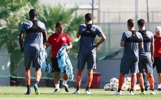 Δεκατρείς παίκτες τους οποίους υπολογίζει για το ντέρμπι με τον ΠΑΟΚ απέκλεισε από το σημερινό ματς του Κυπέλλου ο Πέδρο Μαρτίνς.