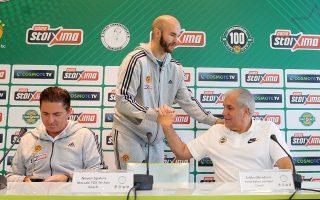 Ομπράντοβιτς και Πασκουάλ μίλησαν με θερμά λόγια για τον ιστορικό παράγοντα του Παναθηναϊκού πριν από την έναρξη του τουρνουά.