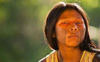 Η ομορφιά των Kayapo, Αμαζονία, Βραζιλία (2010). (Photo © 2018 Cristina Mittermeier. All rights reserved. www.sealegacy.org)