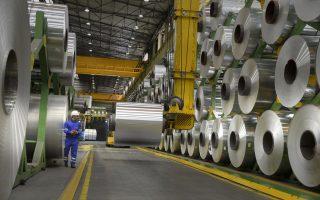 Οι εξαγωγές αλουμινίου καλύπτουν το 5,6% των συνολικών εξαγωγών της χώρας.