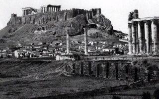 san-simera-to-1834-i-athina-egine-proteyoysa-tis-elladas-fotografies-vinteo0