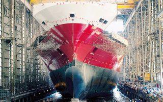 Οι Γερμανοί εφοπλιστές σήμερα κινούν 2.400 πλοία, ενώ το 2012 είχαν 3.800. Πριν από την κρίση του 2008, το 26% των παραγγελιών για νέα πλοία προερχόταν από τη Γερμανία. Σήμερα, το αντίστοιχο ποσοστό έχει πέσει στο 2,3%.