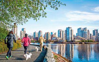 Το Βανκούβερ θεωρείται η βορειοαμερικανική πόλη με την καλύτερη ποιότητα ζωής. (Φωτογραφία: David Hanson/Getty Images/Ideal Image)