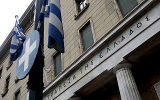 Το κεντρικό κατάστημα της Τράπεζας της Ελλάδος στο κέντρο της Αθήνας, Κυριακή 26 Οκτωβρίου 2014. Σήμερα ανακοινώνονται από την Ευρωπαϊκή Κεντρική Τράπεζα (ΕΚΤ) τα επίσημα αποτελέσματα της άσκησης προσημείωσης ακραίων καταστάσεων, των αποκαλούμενων