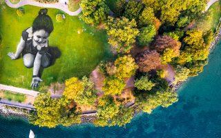 Φωτογραφία: EPA/VALENTIN FLAURAUD PICTURE TAKEN WITH A DRONE