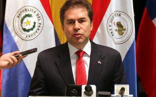 O ΥΠΕΞ της Παραγουάης Λουίς Αλμπέρτο Καστιλιόνι