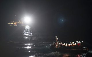 Refugees and migrants are transferred to the SOS Mediterranee Aquarius rescue ship a day after being rescued by members of the Spanish NGO Proactiva Open Arms, after they tried to leave Libya and reach European soil aboard an overcrowded rubber boat, Monday, May 7, 2018. Italy's coast guard said Monday it had granted authorization for 105 migrants rescued at sea by a Spanish aid group to transfer to a sturdier boat after more than a daylong bureaucratic tussle left them exposed to the elements on the Mediterranean Sea. (AP Photo/Felipe Dana)