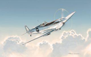 Το ασημένιο Spitfire της IWC διά χειρός του Γάλλου καλλιτέχνη Romain Hugault.