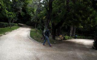 Μία τουρίστρια περπατά στον Εθνικό Κήπο την ''Ευρωπαϊκής Μέρας Πάρκων'', στην Αθήνα, την Πέμπτη 24 Μαΐου 2012. ΑΠΕ-ΜΠΕ/ΑΠΕ-ΜΠΕ/ΑΛΚΗΣ ΚΩΝΣΤΑΝΤΙΝΙΔΗΣ