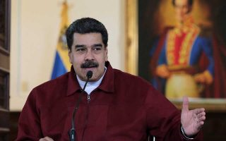 Venezuela's President Nicolas Maduro speaks during a meeting with ministers at Miraflores Palace in Caracas, Venezuela September 24, 2018. Miraflores Palace/Handout via REUTERS ATTENTION EDITORS - THIS PICTURE WAS PROVIDED BY A THIRD PARTY.