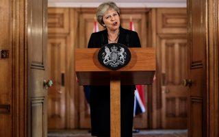 Οι ίδιες βρετανικές εφημερίδες που μιλούσαν για ταπείνωση της Βρετανίας μετά το Σάλτσμπουργκ επιδοκίμασαν την πρωθυπουργό Τερέζα Μέι μετά το αυστηρό διάγγελμά της (φωτ.), όπου ζητούσε σεβασμό για τη χώρα της και προετοίμαζε τους πολίτες για το ενδεχόμενο ενός Brexit χωρίς συμφωνία.