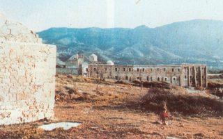Αποψη της Μονής της Παναγίας Αχειροποιήτου στην Κερύνεια (φωτογραφία: Τμήμα Αρχαιοτήτων).