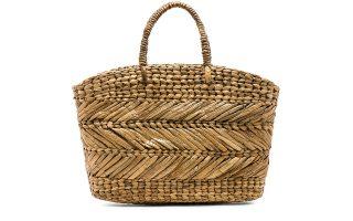 Τσάντα-καλάθι κατασκευασμένη από ψάθα €66,45