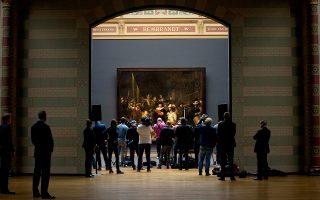 Συνέντευξη Τύπου παραχώρησε χθες ο διευθυντής του εθνικού μουσείου στο Αμστερνταμ, για να περιγράψει τα σχέδια συντήρησης της «Νυχτερινής περιπόλου».