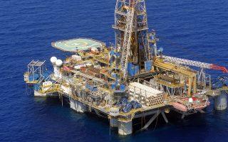 Φωτογραφίες από τις γεωτρήσεις της Noble Energy στην Κυπριακή  ΑΟΖ , Πέμπτη 6 Οκτωβρίου 2011 .  ΑΠΕ-ΜΠΕ/ΑΠΕ-ΜΠΕ/STR