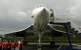 Εξαιρετικά πολυτελή αλλά στριμωγμένα ήταν τα ταξίδια με το υπερηχητικό αεροσκάφος.
