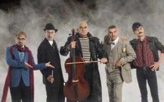 «Η συμμορία των 5» παρουσιάζεται στο θέατρο Κιβωτός.