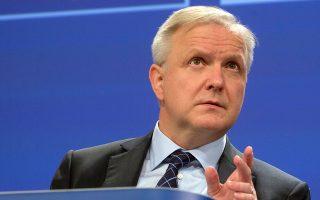 «Οι κανόνες είναι οι ίδιοι για όλους στην Ευρωζώνη», λέει ο Ολι Ρεν.