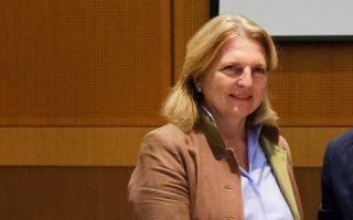 Εξαιρετικές χαρακτηρίζει η Κάριν Κνάισλ τις σχέσεις Ελλάδας - Αυστρίας.