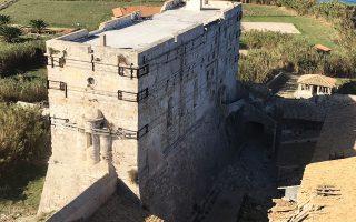 Ιδού η φωτογραφία που έστειλε στη στήλη η Ιερά Μητρόπολις Ζακύνθου για το μνημείο μετά τον πρόσφατο σεισμό.