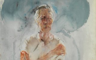 Σε μία από τις τρεις ενότητες της έκθεσης, ο Χρόνης Μπότσογλου «αποτυπώνει την επώδυνη σωματική και πνευματική αποσύνθεση της μητέρας του» ως απόπειρα συμφιλίωσης «απέναντι στη φθορά».
