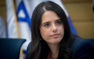 Η Ισραηλινή υπουργός Δικαιοσύνης, Αγιελέτ Σακέντ σκοπεύει να θεσπίσει σχετικό νόμο για την απαλλοτρίωση της επίμαχης γης ώστε να περάσει στην κυριότητα του ισραηλινού κράτους.