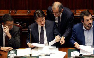 Πηγές της ΕΚΤ διεμήνυσαν στην ιταλική κυβέρνηση ότι δεν μπορεί να βασίζεται στη βοήθειά της, παρά μόνον αν αποδεχθεί ένα καθεστώς μνημονίου.