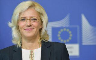 Η επίτροπος Περιφερειακής Πολιτικής Κορίνα Κρέτσου τονίζει στην «Κ» ότι ο χρόνος πιέζει και η ελληνική οικονομία χρειάζεται περισσότερες επενδύσεις.