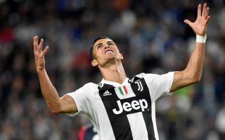 Soccer Football - Serie A - Juventus v Bologna - Allianz Stadium, Turin, Italy - September 26, 2018  Juventus' Cristiano Ronaldo reacts    REUTERS/Massimo Pinca      TPX IMAGES OF THE DAY
