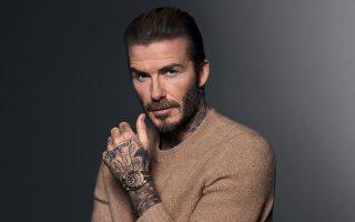 David Beckham by David Sims ©Tudor