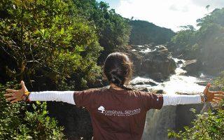 Στον ποταμό Manambolo στη Μαδαγασκάρη.