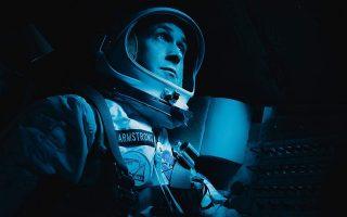 Ο Ράιαν Γκόσλινγκ ως Νιλ Αρμστρονγκ στην ταινία «Πρώτος άνθρωπος», του Ντάμιεν Τσαζέλ, η οποία θα προβληθεί στη χώρα μας αυτή την εβδομάδα.