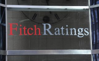 This photo shows 1 State Street Plaza, home of Fitch Ratings, Sunday, Oct. 9, 2011 in New York.  (AP Photo/Henny Ray Abrams)