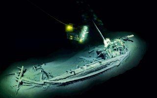 Το ελληνικό εμπορικό πλοίο εντοπίστηκε ανοικτά του Μπουργκάς στη Μαύρη Θάλασσα. Το σκάφος διατηρήθηκε καλά, χάρη στην έλλειψη οξυγόνου.