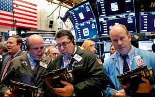 Λίγο πριν από το κλείσιμο της συνεδρίασης, οι δείκτες της Wall Street εμφάνιζαν ισχυρή άνοδο.