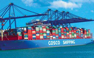 Με την έλευση της Cosco το λιμάνι του Πειραιά κατέστη το τρίτο μεγαλύτερο της Μεσογείου και το έβδομο στην Ευρώπη, σύμφωνα με τα επίσημα στοιχεία για το περασμένο έτος.