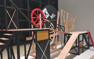 Μία από τις εντυπωσιακές ανακατασκευές της έκθεσης, στο Μουσείο Σαμπαντζί, στην Πόλη.