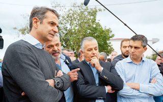 Ο πρόεδρος της Ν.Δ. Κυρ. Μητσοτάκης επανέλαβε από την Κόρινθο ότι το μόνο που ενδιαφέρει την κυβέρνηση ΣΥΡΙΖΑ-ΑΝΕΛ είναι η παραμονή της στην εξουσία.